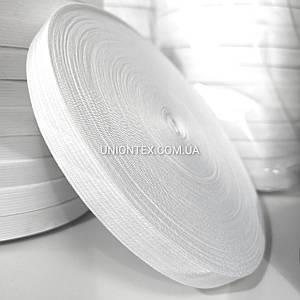 Резинка текстильная белая 2см, намотка 40м