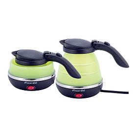 Чайник электрический складной Kamille зеленый 0,5 л SKL44-226291