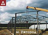 От 600грн/кв.м Изготовление ангаров 12х42х3 под Заказ из нового материала. Ангар, склад, цех, сто, навес., фото 10
