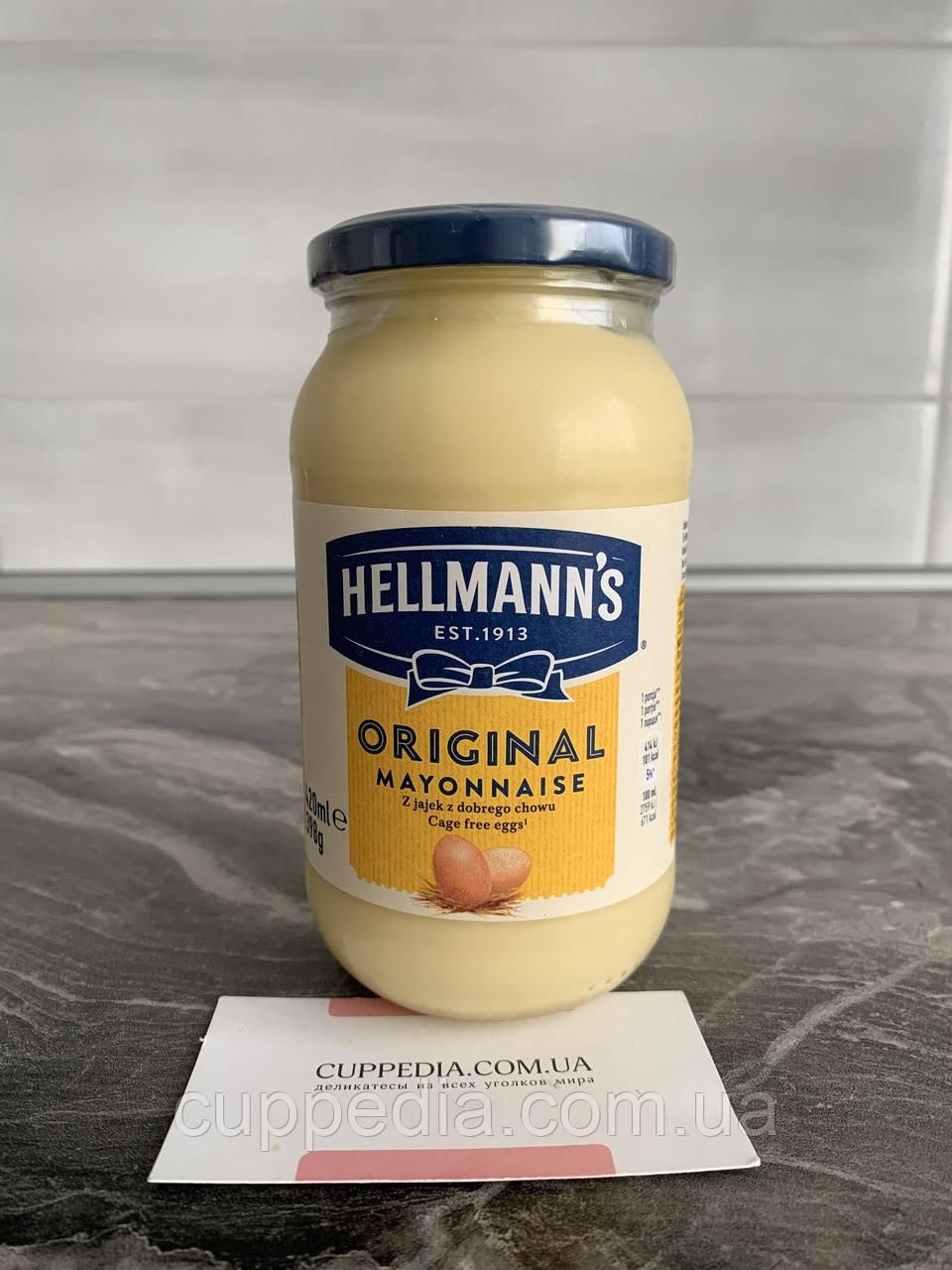 Майонез Hellmanns Original 420 грм