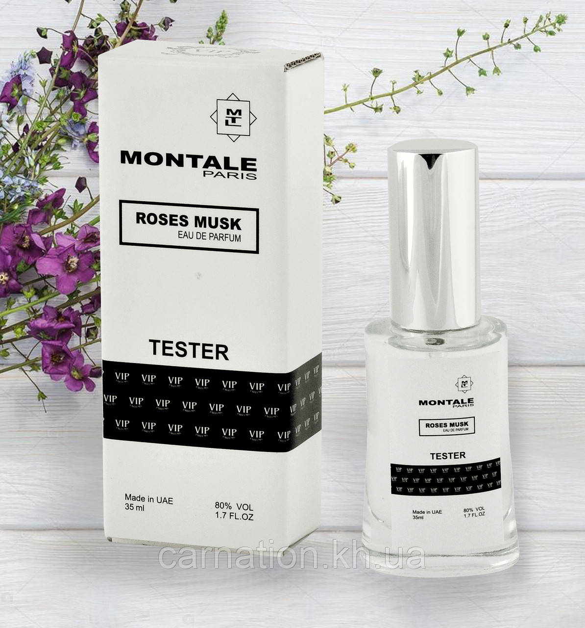 Женский тестер Montale Roses Musk 35 мл