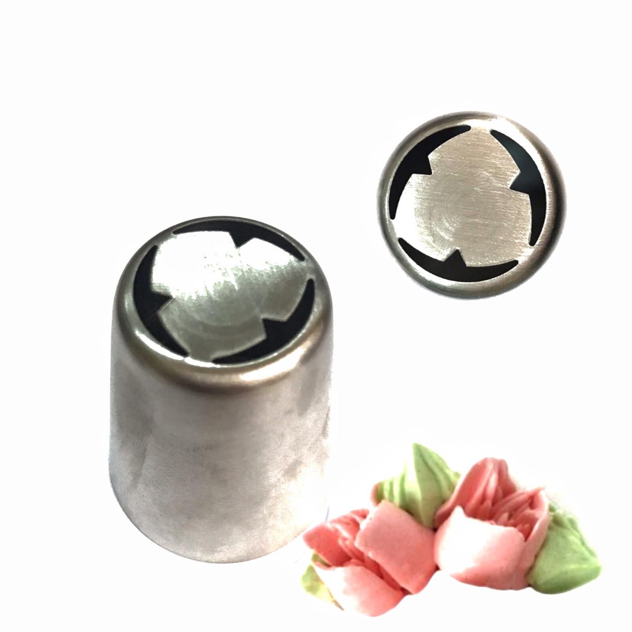 Насадка кондитерская Тюльпан 3 Лепестка №8