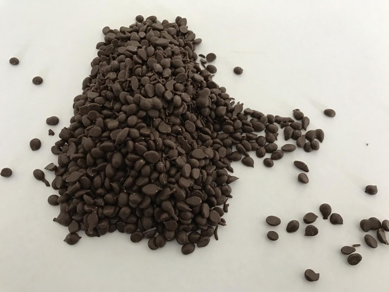Глазурь шоколадная кондитерская черная Elite .В виде капли для начинки , декора и тд.