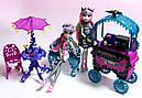 Вуличне Кафе Monster High із серії Подорож в Скариж Монстер Хай Школа монстрів, фото 7