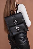 Черный рюкзак М257-63 модный молодежный городской, фото 1