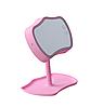 🔝 Зеркало с подсветкой, Розовое, зеркало с подсветкой настольное, зеркало для макияжа, Mirror Lamps   🎁%🚚