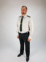 Рубашка форменная  НГУ цвет ТАН длинный и короткий рукав