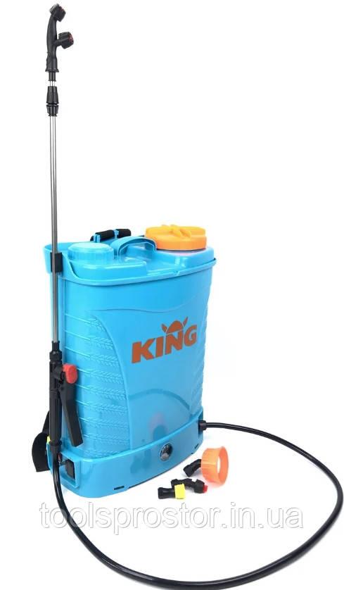 Аккумуляторный Опрыскиватель KING AES16 PROFI : 15 (А·ч) аккумулятор   8 ч. бесперевной роботы