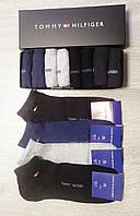 Набор носков в фирменной подарочной упаковке Tommy Hilfiger  - 12 шт с низкой посадкой коробке