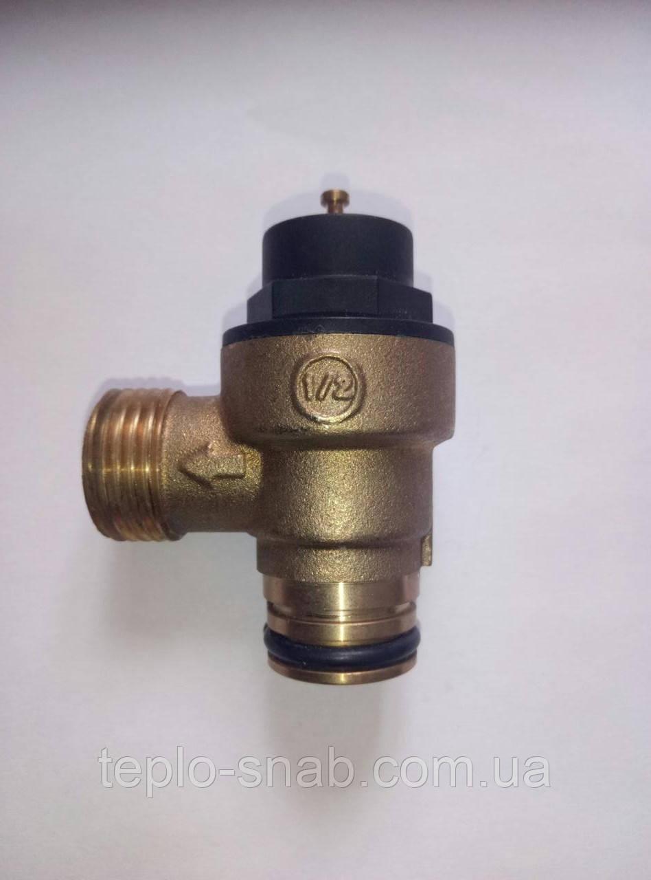 Предохранительный клапан 3 бар. Vaillant 178985. Protherm 0020014173. Saunier Duval  S1006700