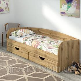 Дитяче ліжко Соня-3 з шухлядами для білизни. Підліткове ліжко