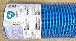 Панцирная цокольная антивандальная сетка Valmiera для фасадов плотность 340 гр/м2 ячейка 9х9 мм рулон 25 м2