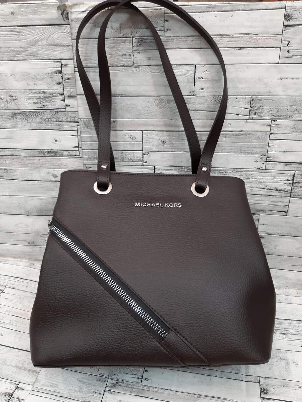 Женская Сумочка Michael Kors сумка коричневого цвета из эко-кожи.