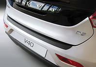 Защитная пластиковая накладка на задний бампер для Volvo V40 6.2012>, заказ. RBP740