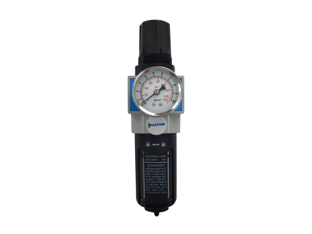 """Фильтр-регулятор с индикатором давления 1/4""""(0-10bar) профи"""