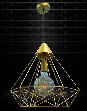 Светильник подвесной в стиле лофт NL 0541 G MSK Electric, фото 2
