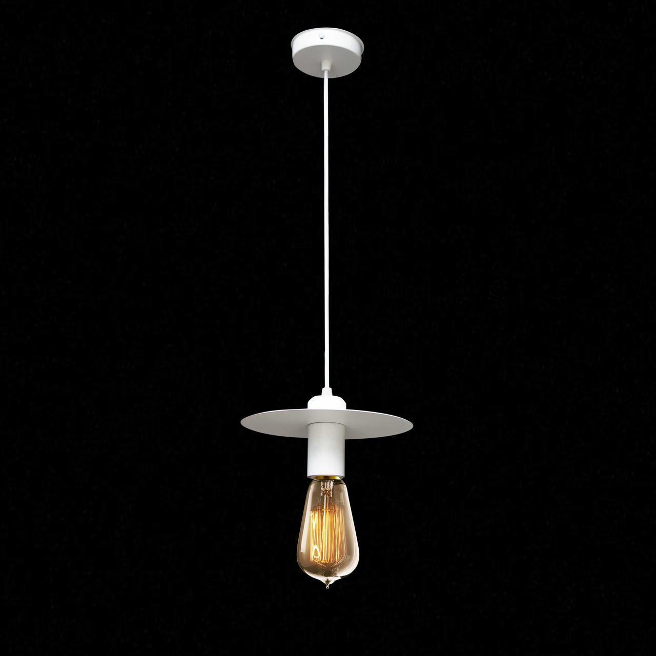 Светильник подвесной в стиле лофт NL 2009 WH  MSK Electric