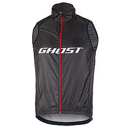 Жилет Ghost Factory Racing, M, черно-красно-белый