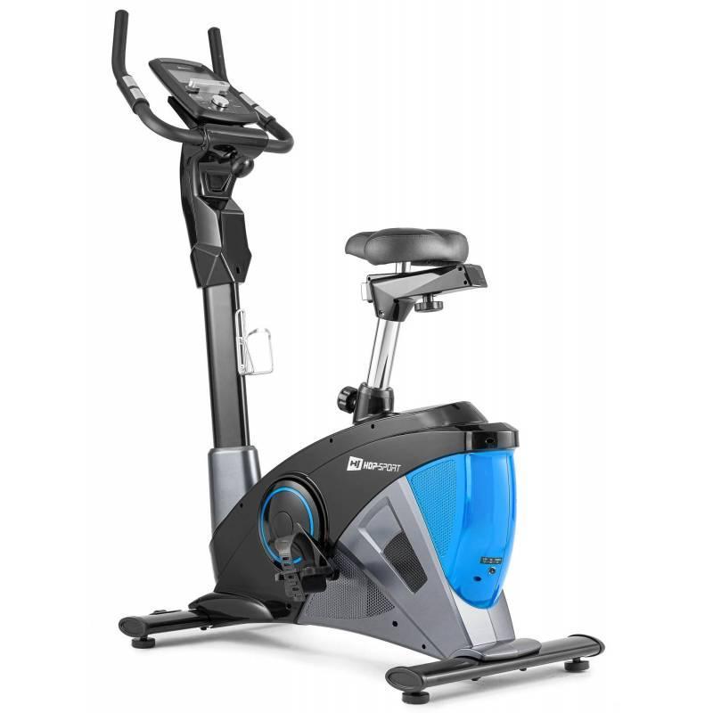 Велотренажер электромагнитный Hop-Sport HS-090H Apollo синий iConsole+ Мат для дома и спортзала