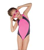 Купальник детский закрытый Shepa 009 (original) целостный, сдельный, слиты для девочки, для бассейна