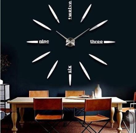 Часы настенные 3D Diy средние светящиеся SKL11-209809, фото 2