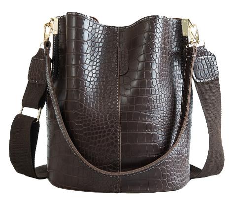 Модная женская сумка - Коричневая