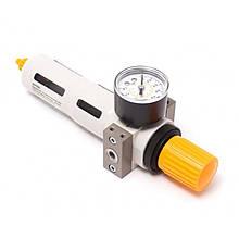 """Фильтр-регулятор с индикатором давления для пневмосистемы 1/8"""""""