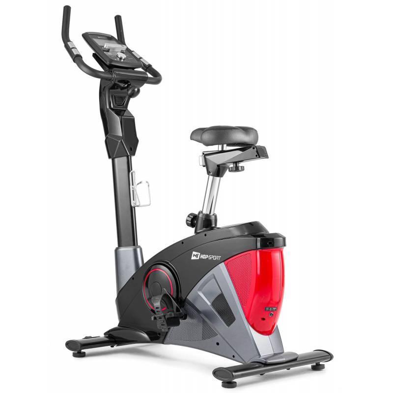 Велотренажер электромагнитный Hop-Sport HS-090H Apollo красный iConsole+ Мат для дома и спортзала