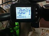 Ручка газа (курок) с компьютером для электро велосипедов 36-48 вольт, фото 2