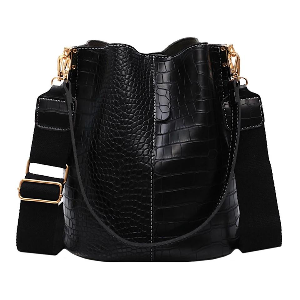 Модная женская сумка - Черная