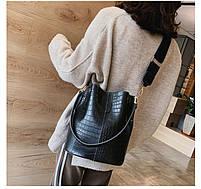 Модная женская сумка - Черная, фото 5