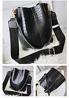 Модная женская сумка - Черная, фото 6