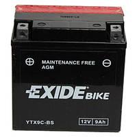Аккумулятор Exide 12V 9AH/120A (YTX9C-BS)