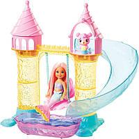 Набор Barbie Dreamtopia Замок русалочек Челси