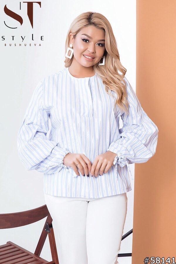 Блузка женская 10мв батал