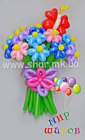 Шикарный букет из воздушных шаров. Николаев