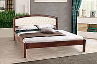 Кровать двуспальная Джульетта с мягким изголовьем