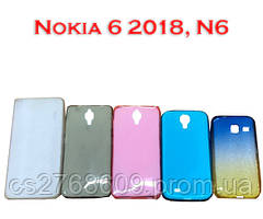 """Чехол силікон """"Remax"""" Nokia 6 2018, N6 в асортименті"""