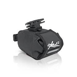 Сумка підсідельна XLC BA-W22, чорно-сіра, 13,5x9x9 см