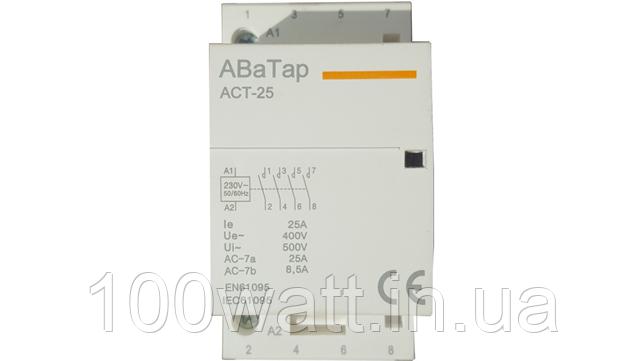 Контактор модульный 4 NO 63 ACT-63A ST424-1