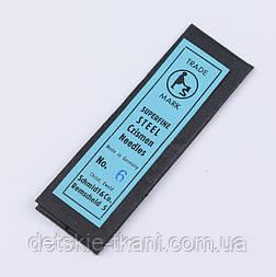 Набор игл для вышивания бисером № 6 CZISMEN (25 шт.)
