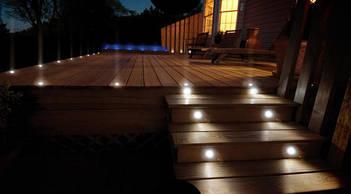 Светильники для ступеней и тротуаров