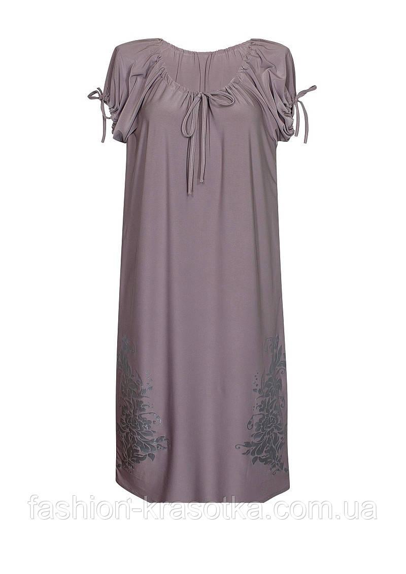 Платье ВЕСНА,короткий рукав,поливискоза.
