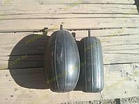Усилители пружин пневмо вертикальный сосок  (2 подушки надувные+2 отбойника)