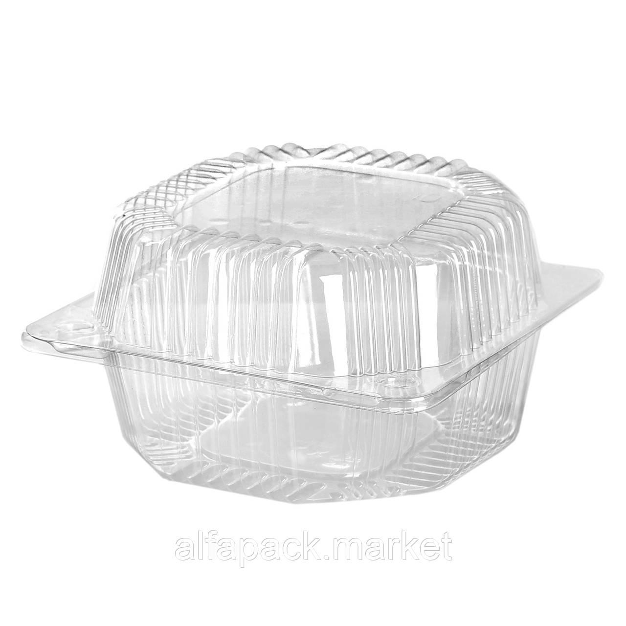 Пластиковый контейнер, блистер ПС-10, 135*130*74 (500 шт в ящике) 010100018