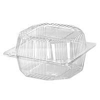Пластиковый контейнер, блистер ПС-10, 135*130*74