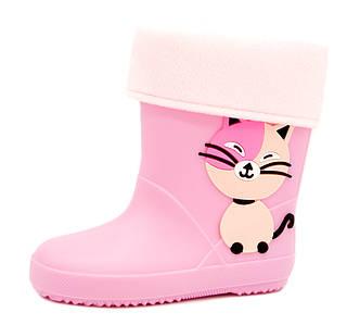 Резинові чоботи для дівчинки Розміри: 25,26,27,28,29,30