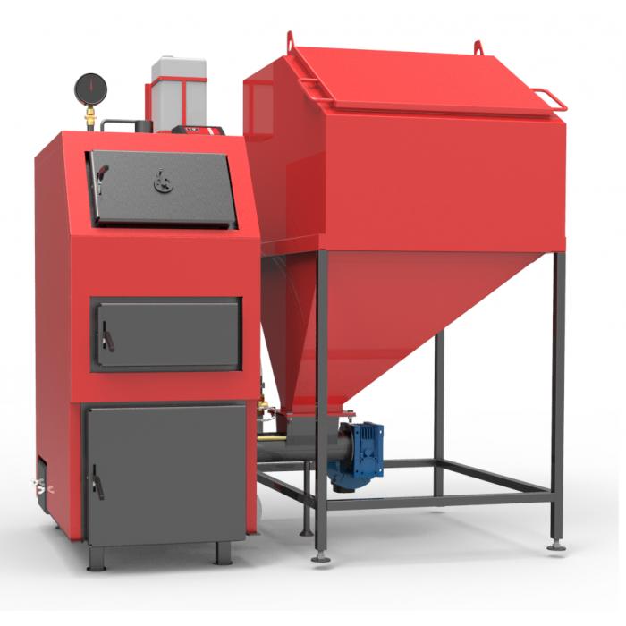 Твердотопливный пеллетный котел РЕТРА-4М 80 кВт длительного горения