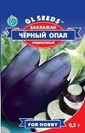 Семена баклажан Черный Опал масса 150-200
