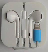 """Навушники Hoco L7 для iPhone 7"""" white, фото 3"""